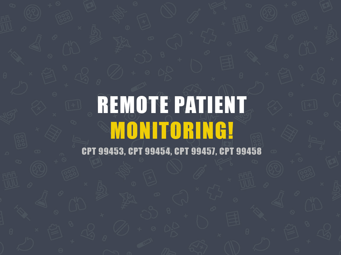 Remote Patient Monitoring CPT Codes